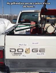 Doge Car Meme - much car so doge wow