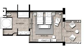 Hotel Guest Room Floor Plans by Mauritius Resort Outrigger Mauritius Beach Resort Bel Ombre