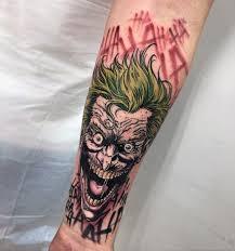 joker tattoo video joker tattoos for men tattoo tatting and harley quinn tattoo