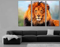 african lion etsy