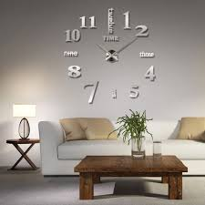 Decorative Wall Clocks For Living Room Compare Prices On Abstract Clock Designs Online Shopping Buy Low