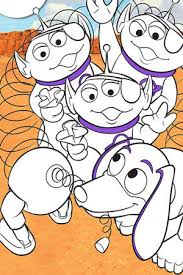 toy story alien coloring page toy story colouring pages u0026 activities disney create