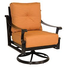 Swivel Wicker Patio Furniture by Outdoor Wicker Rocking Chair With Cushion Patio Furniture Shop