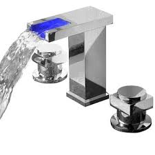 Sumerain Waterfall Faucet Top Product Reviews For Sumerain Led Thermal Chrome Bathroom Sink