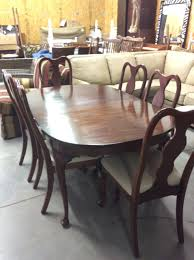 Henkel Harris Dining Room Furniture Henkel Harris Table 2 Leaves 8 Chairs Carolina Consignment
