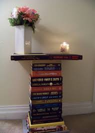 book stacking ideas stacked book end table tips to redesign your old stacking 15