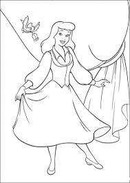 princess cinderella color pages printable wanto give