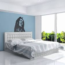 Elle Decor Bedroom by Bob Marley Vinyl Wall Art Decal By Vinyl Revolution