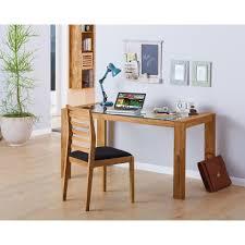 Schreibtisch Breite 110 Cm Schreibtisch Inger 150 X 70 Cm Eichenholz Glas Dänisches