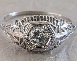 antique engagement ring antique ring etsy