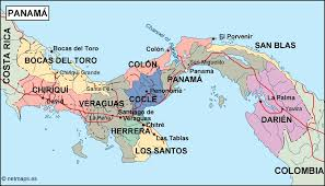 Panama World Map by Panama Political Map Eps Illustrator Map Our Cartographers Have