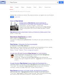 google penalises rap genius offsite seo gone wrong vlexo net