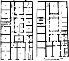 roman insula floor plan regio i insula iii caseggiato di diana i iii 3 4