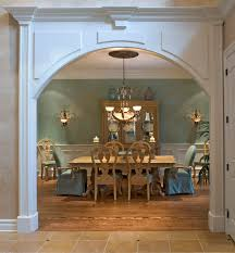 the entrance to your dining room can help bring the room to life