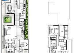 narrow home floor plans narrow block house designs for perth wishlist homes narrow