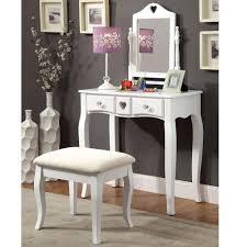 Makeup Bedroom Vanity Perfectchoice Francine Lovely Bedroom Vanity Makeup Table Swivel