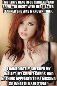 Red Hair Girl Meme - 83 best redhead jokes ginger problems images on pinterest