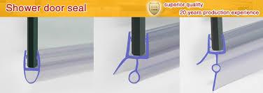 Sealing Glass Shower Doors Simple Decoration Shower Door Bottom Seal Peachy Ideas Glass