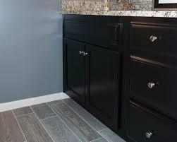 How To Paint Bathroom Cabinets Dark Brown Appealing Fake Wood Flooring Black Bathroom Cabinet Marble Vanity