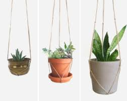 Modern Hanging Planters by Extra Large Natural Beige Macrame Plant Hanger For Hanging