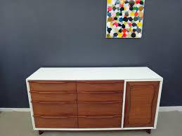 mid century dresser credenza by hickory furniture retrocraft