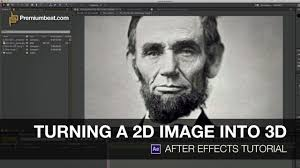 3d Photo Video Tutorial Turning A 2d Image Into 3d In After Effects Youtube
