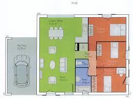 plan de maison plain pied 2 chambres cuisine ideas about plan maison plain pied on plan plan maison avec