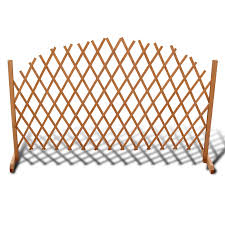 gym equipment extendable wood trellis fence 5 u0027 11