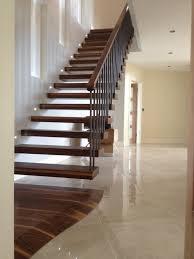 Interior Steps Design Interior Design Great Dark Brown Wooden Floating Stairs With