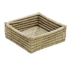 delta palm square basket