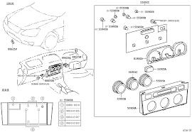 lexus altezza parts toyota altezza altezza gitasxe10 aefvf electrical heating air