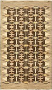 9 6 rug roselawnlutheran vintage rug modern deco scandinavian htm brown geometric