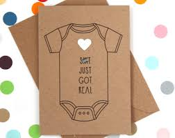baby card baby card etsy