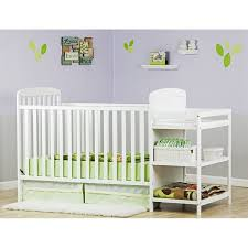 dream on me changing table white dream on me anna 4 in 1 full size crib and changing table in white
