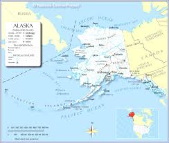 map of the united states showing alaska and hawaii map usa canada alaska major tourist attractions maps
