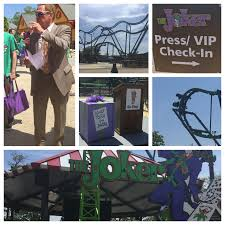 Six Flags New Jersey Tickets Thejoker 4d Free Fly Coaster At Six Flags Great Adventure Press
