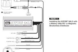 mallory distributor wiring diagram wiring diagrams