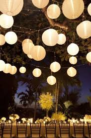 paper lanterns with lights for weddings wedding decor hanging flowers lanterns chandeliers lights