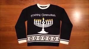 light up hanukkah sweater lighted chanukah hanukkah sweater by festified youtube