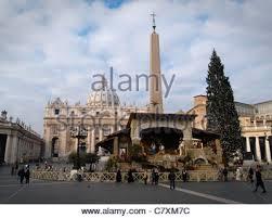 nativity scene in vatican city rome stock photo royalty free