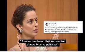 Latest Meme - twitter turns kangana ranaut s claims against hrithik roshan into