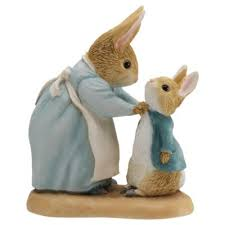 buy beatrix potter mrs rabbit figurine from our ornaments