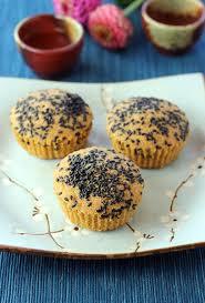 sesame cupcakes delicate kinako and black sesame cupcakes food gal