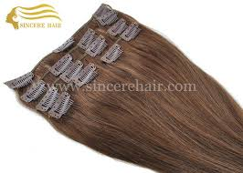 hot hair extensions hot sale 16 clip in hair extensions for sale 40 cm brown