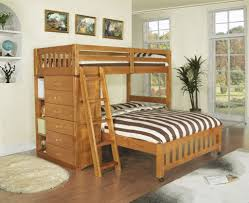 Columbia Full Over Full Bunk Bed by Bedroom Design Fascinating Twin Over Full Bunk Bed Plans