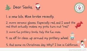 dear santa letter poem idea