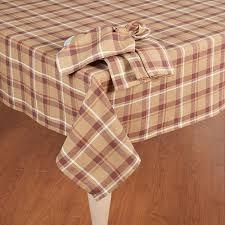 pilgrim plaid tablecloth boscov s