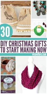 30 good diy christmas gifts to start making now diy christmas