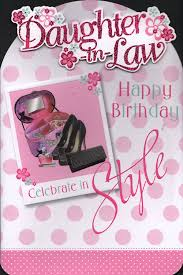 daughter in law birthday card daughter in law happy birthday