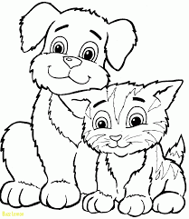 coloring page of a kitty beautiful coloring page kitty buzz coloring